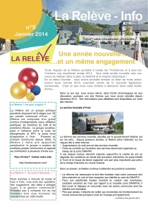 LaReleve Info janvier 2014 p1 site Web